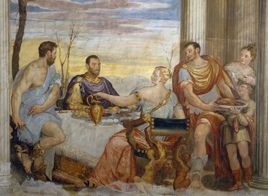 Il convitto di Cleopatra castello di thiene